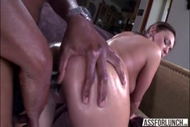 Creamy pussy and ass fucked with hard cock.