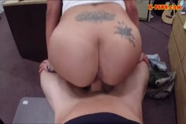 Huge dicked latina in red lingerie gets her pussy filled up with cum.