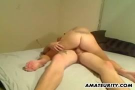 My gf fucks me and i give a footjob.