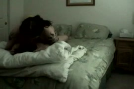 Hot wife cheating on husband with her husband.