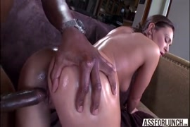 Teen brazilian fucked hard and takes massive creampie from black cock.