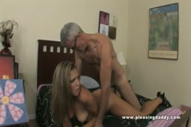 Hot brunette slut sucks and rides her guys cock.