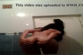 Masturbation with big dildo and cock in the bath. watch