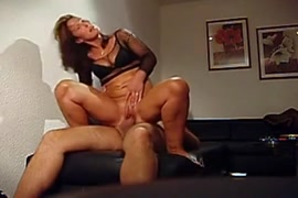 Thick milf rides thick cock reverse cowgirl.