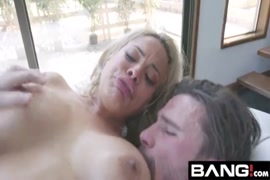 Busty latina milf cums hard from cumming on her big tits and ass.