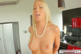 Sissy crossdresser fucked and filled with cum.
