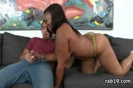 Big booty ebony slut fucked hard by big dick.