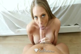 Sexy milf gets naked and sucks and fucks.