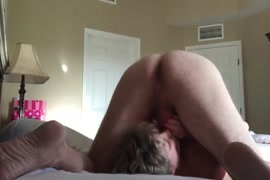 Threesome wife fucks friend while watching porn.
