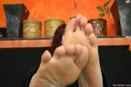 Nylon feet heels soles for the wife.