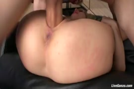Sissy in chastity cums twice from pain anal vibrators.