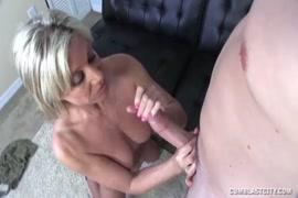 Jennifer white takes a huge cumshot from her big black cock.
