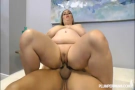 Huge tit milf gets fucked in doggy position by young man.