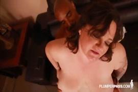 Busty milf kirsty lynn takes all her husbands black cock.