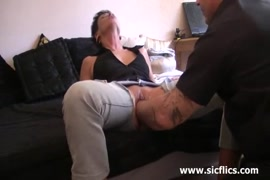 Amateur wife takes it deep in her pussy.