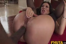 Pounding my ass with a huge cock.