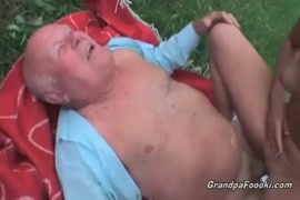 Crazy slut gets fucked and creampied by a guy.