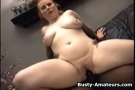 Thick babe sucking and fucking a black cock.