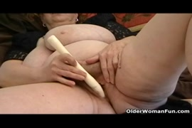 Gf with big saggy tits plays with me.