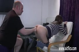 Fisting her pussy till she squirts.