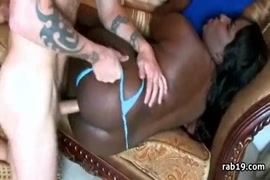 Big booty ebony loves this bbc.