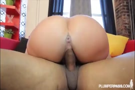 Naughty milf gets her ass filled with cum by bbc.