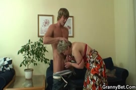 Big cock gets wanked by her husband.