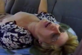 Hot wife gets rough fucked while husband is away.