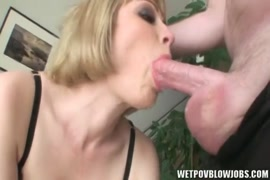 Tattooed blonde sucks the soul out of cock.